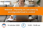 Webinar - Planning en calculatie bij woningonderhoud in control